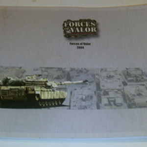 Forces of Valor 2004 dealership catalogue great reference military models